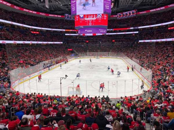 Capital One Arena, secção: 106, fila: U, lugar: 7
