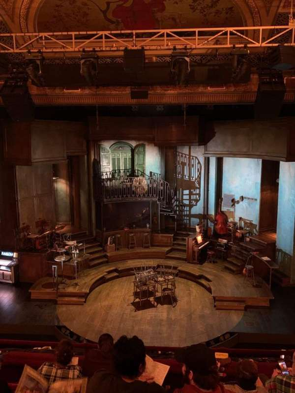 Walter Kerr Theatre, secção: Mezzanine C, fila: F, lugar: 104