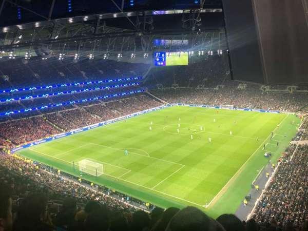 Tottenham Hotspur Stadium, secção: 511, fila: 16
