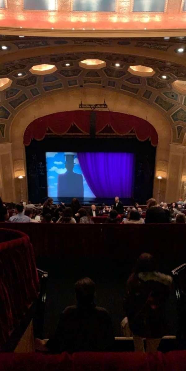 Detroit Opera House, secção: Balcony 2, fila: N, lugar: 307