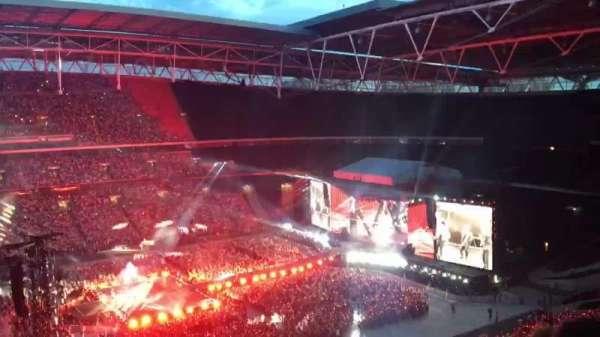 Wembley Stadium, secção: 502, fila: 14, lugar: 68