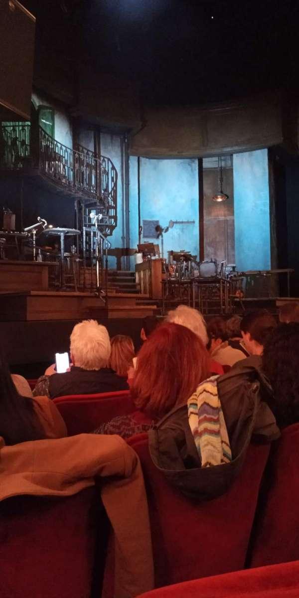 Walter Kerr Theatre, secção: Orchestra L, fila: G, lugar: 13