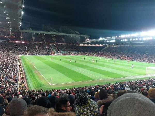 Old Trafford, secção: W202, fila: 12, lugar: 276
