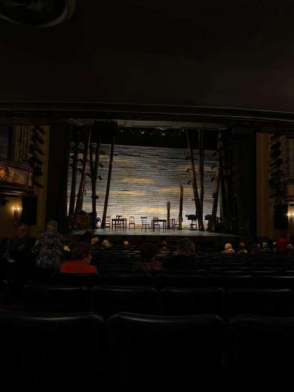 Comedy Theatre, secção: Stalls, fila: P, lugar: 15