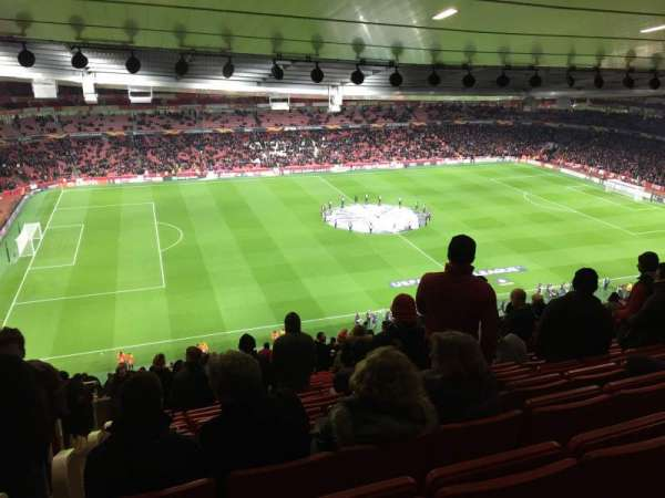 Emirates Stadium, secção: Block 93, fila: 73