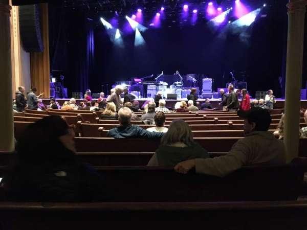 Ryman Auditorium, secção: 4, fila: Q, lugar: 3