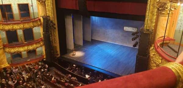 Emerson Colonial Theatre, secção: Balcony R, fila: A, lugar: 18