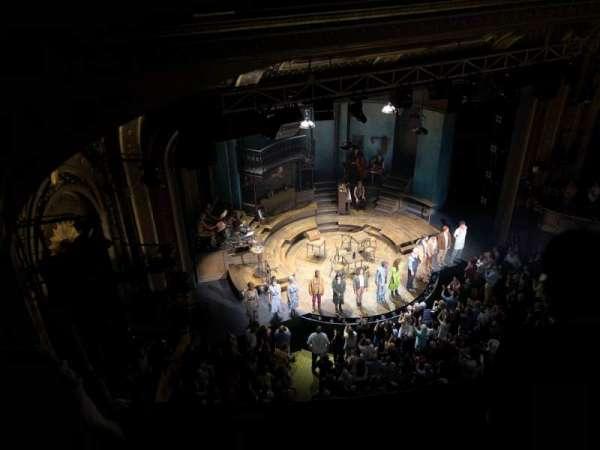 Walter Kerr Theatre, secção: Balcony L, fila: B