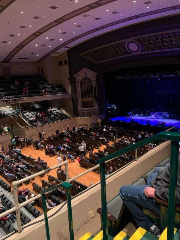 Township Auditorium, secção: I, fila: C, lugar: 13