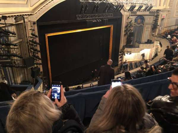 Ambassador Theatre, secção: Rear Mezzanine L, fila: B, lugar: 17