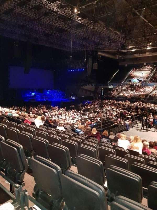 Arena Birmingham, secção: 11 Lower, fila: S, lugar: 470