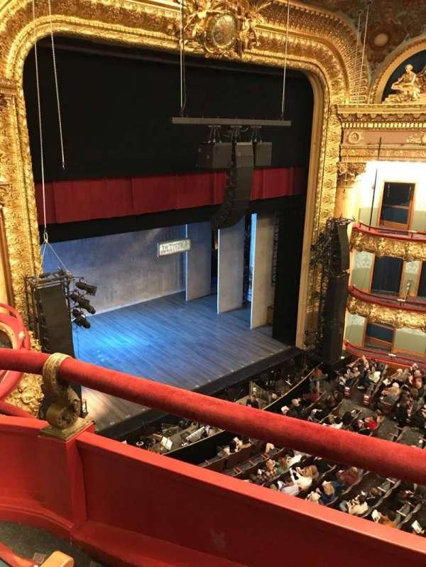 Emerson Colonial Theatre, secção: Balcony L, fila: B, lugar: 29