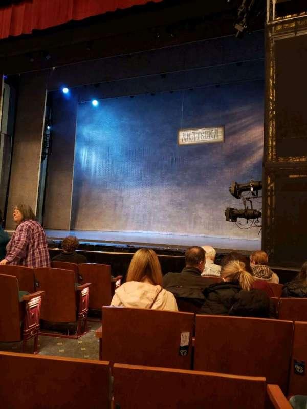 Emerson Colonial Theatre, secção: Orchestra R, fila: G, lugar: 6