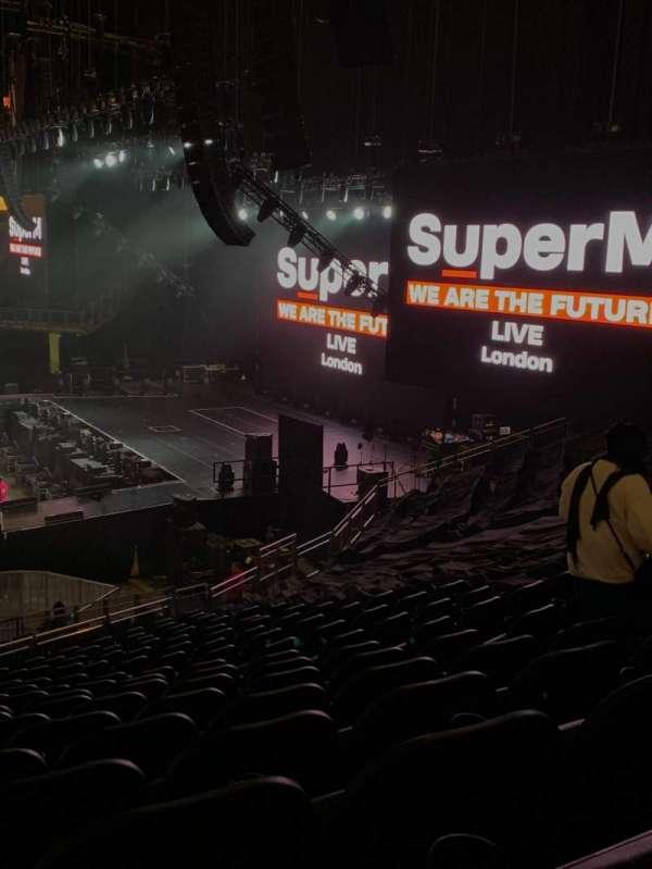 The O2 Arena, secção: 112, fila: z, lugar: 382