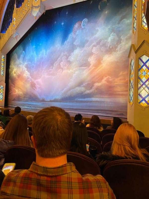 Eugene O'Neill Theatre, secção: Orchestra R, fila: F, lugar: 14-16
