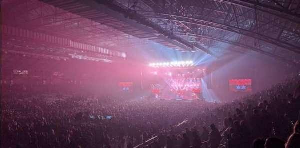 Utilita Arena, secção: 207, lugar: 163