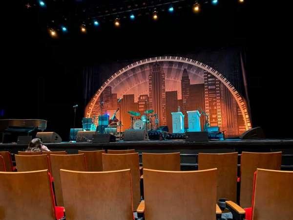 Durham Performing Arts Center, secção: Orchestra 1, fila: C, lugar: 111