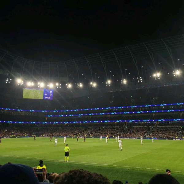 Tottenham Hotspur Stadium, secção: 102, fila: 11, lugar: 41