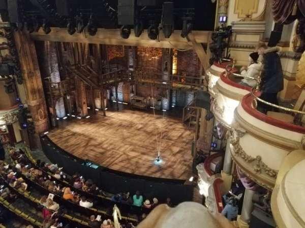 Victoria Palace Theatre, secção: Grand Circle, fila: A, lugar: 2