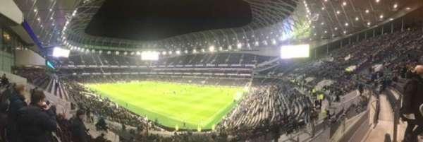 Tottenham Hotspur Stadium, secção: 259, fila: 37, lugar: 400