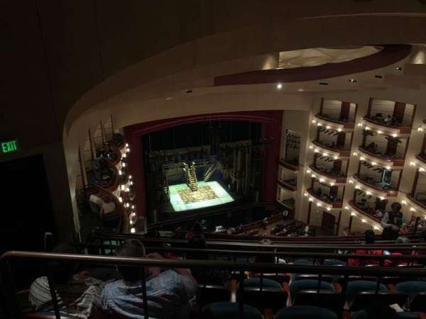 Ziff Ballet Opera House at the Arsht Center, secção: 4 Tier, fila: G, lugar: 21