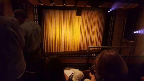The Kennedy Center Eisenhower Theater, secção: Balcony, fila: C, lugar: 3