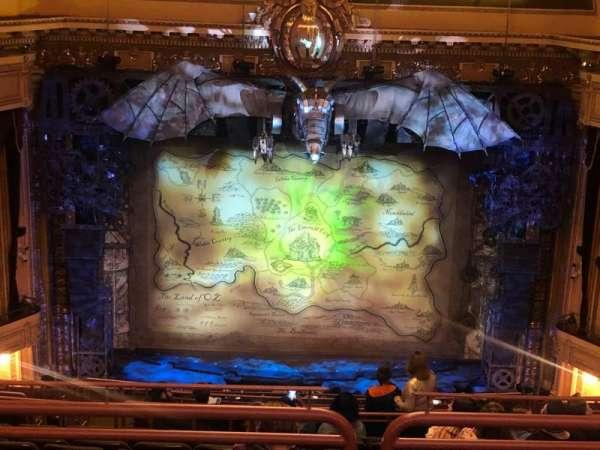 Hippodrome Theatre, secção: Center Upper Balcony, fila: O, lugar: 310