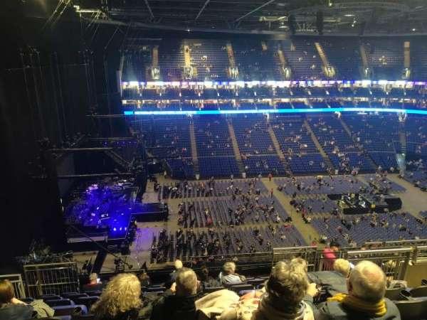 The O2 Arena, secção: 401, fila: L, lugar: 476