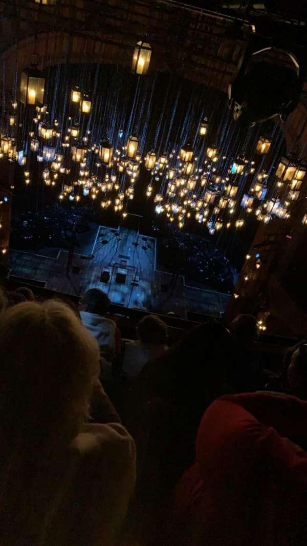 Lyceum Theatre (Broadway), secção: Balcony C, fila: E, lugar: 110