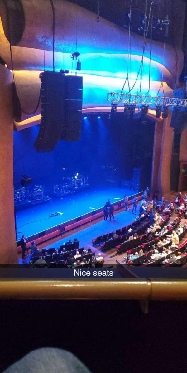 The Grand Theater at Foxwoods, secção: Left Mezzanine, fila: A, lugar: 45