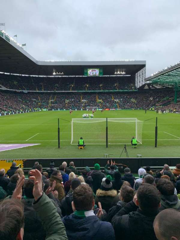 Celtic Park, secção: 140, fila: K, lugar: 5