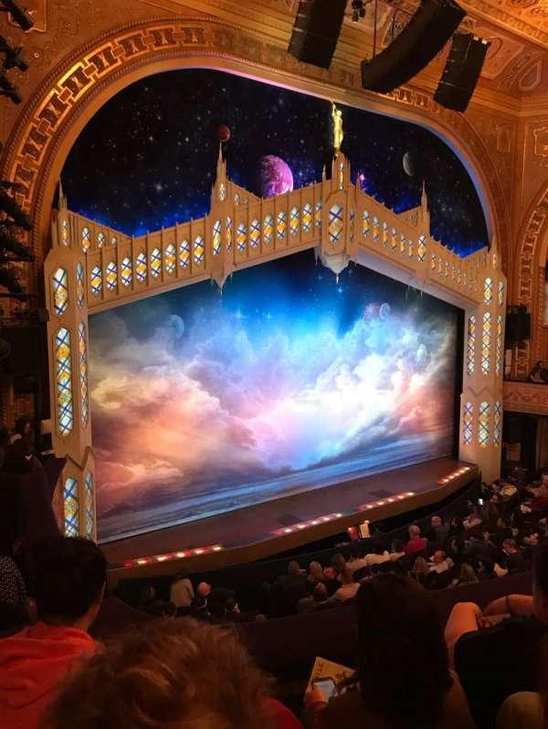 Eugene O'Neill Theatre, secção: Mezzanine L, fila: C, lugar: 23