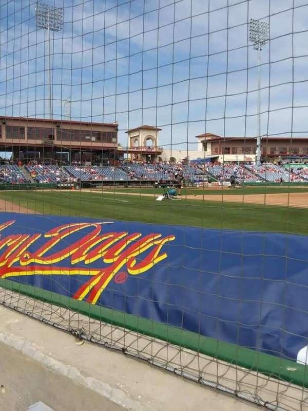 BayCare Ballpark, secção: 103, fila: 1, lugar: 17