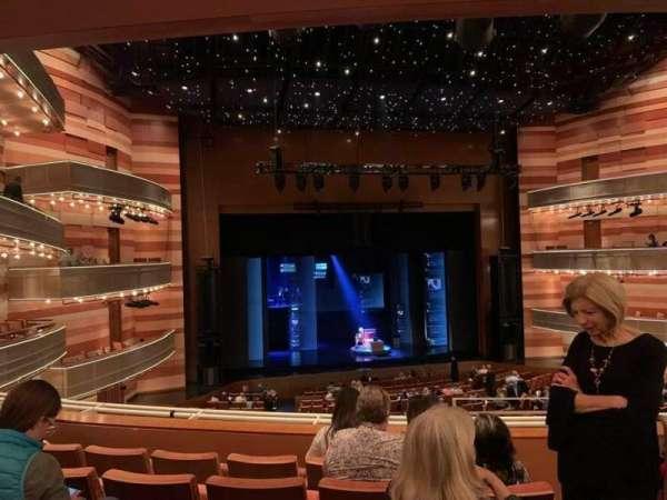 Eccles Theater, secção: 1TL, fila: E, lugar: 102