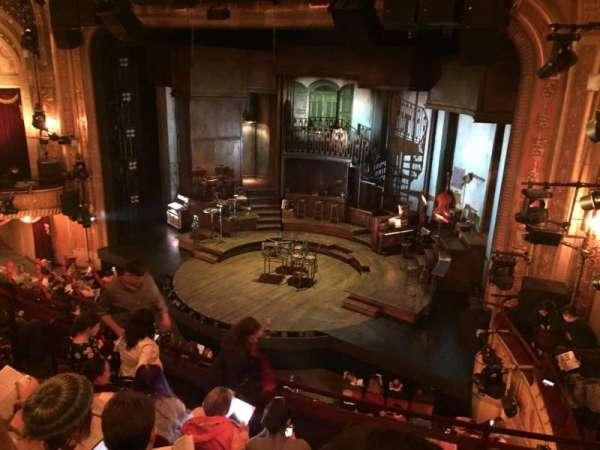 Walter Kerr Theatre, secção: Mezzanine R, fila: F, lugar: 20