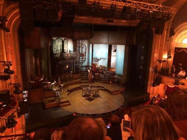 Walter Kerr Theatre, secção: Mezzanine L, fila: F, lugar: 13
