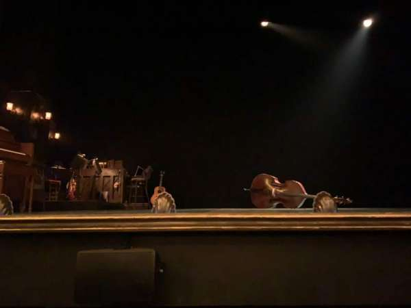 Belasco Theatre, secção: Orchestra C, fila: BB, lugar: 103