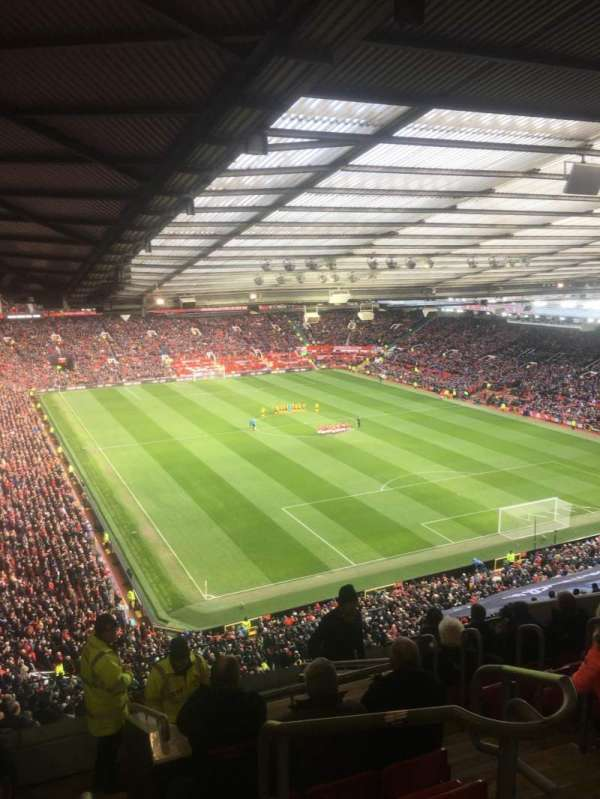 Old Trafford, secção: NW3434, fila: 25, lugar: 16