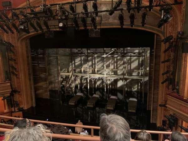 American Airlines Theatre, secção: Front Mezzanine, fila: C, lugar: 112