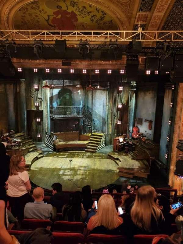 Walter Kerr Theatre, secção: Mezzanine C, fila: F, lugar: 103