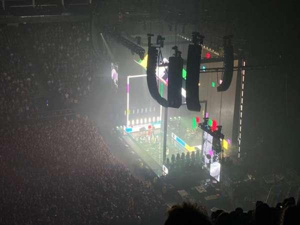 The O2 Arena, secção: 420, fila: N, lugar: 930