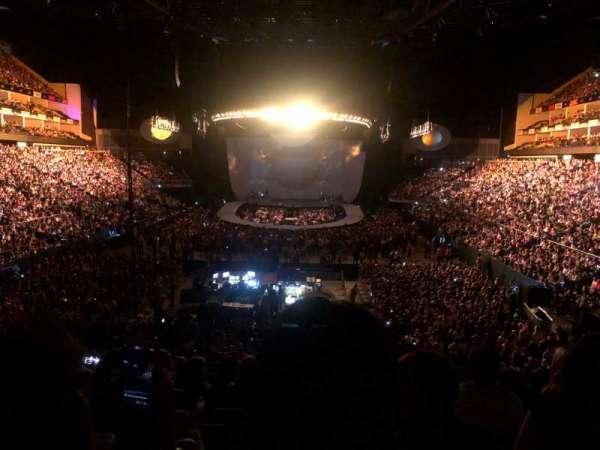 The O2 Arena, secção: 107, fila: Y