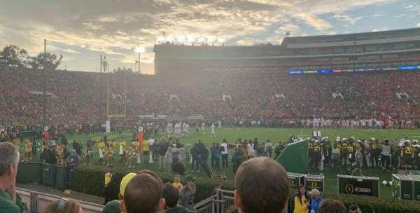 Rose Bowl, secção: 3-H, fila: 5, lugar: 105