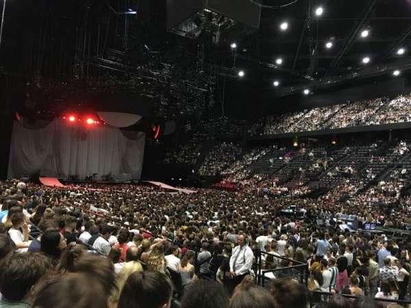 AccorHotels Arena, secção: Gradin S, fila: 21, lugar: 13