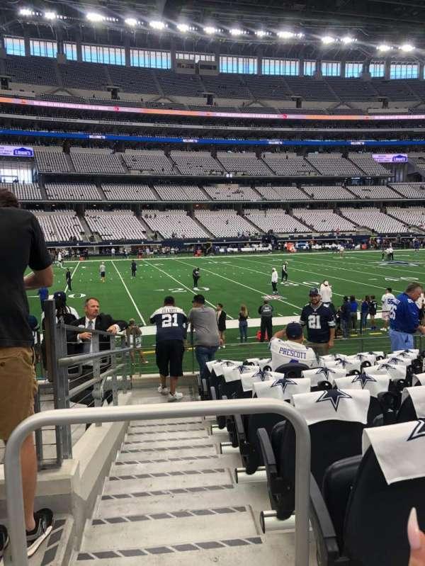 AT&T Stadium, secção: C113, fila: 9, lugar: 19-20