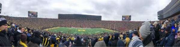Michigan Stadium, secção: 23, fila: 68