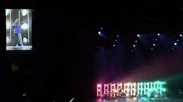 Staples Center, secção: 207, fila: A