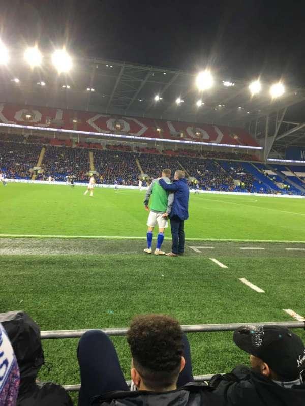 Cardiff City Stadium, secção: 205, fila: C, lugar: 337