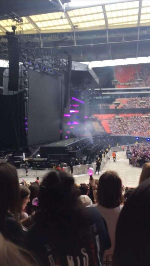 Wembley Stadium, secção: 126, fila: 25, lugar: 90