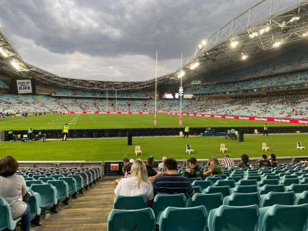 ANZ Stadium, secção: 140, fila: 15, lugar: 1